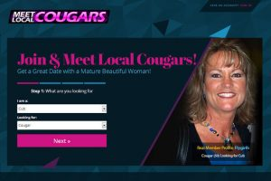 Meet Local Cougars homepage