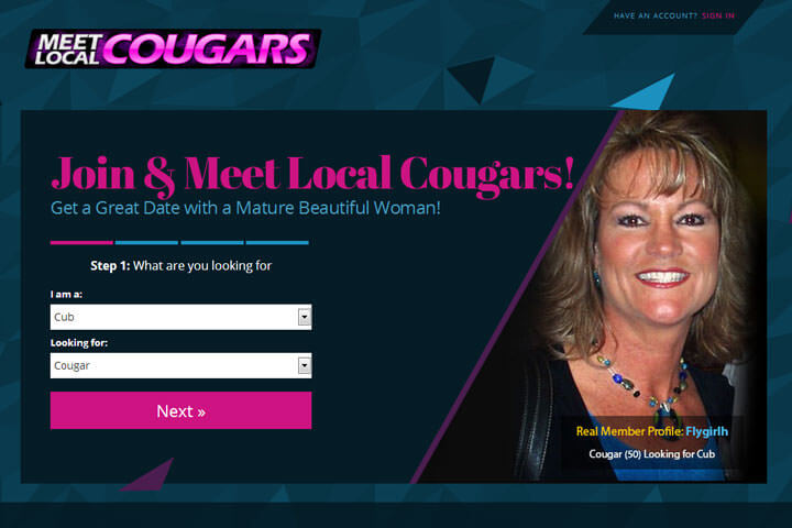 loul cougars dating site Welcome to #1 dating site for cougars and their admirers do you have a fetish for older woman have you been spending a great deal of time searching for cougar models.